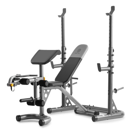 Gold S Gym Xrs 20 Olympic Workout Bench With Squat Rack