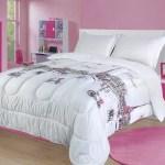 Comforters Sets Bedding Slumber Bags Mk Home 7pc Queen Comforter Set For Girls Paris Bedding Eiffel Tower Pink Grey New Comforters Sets Bedding Slumber Bags