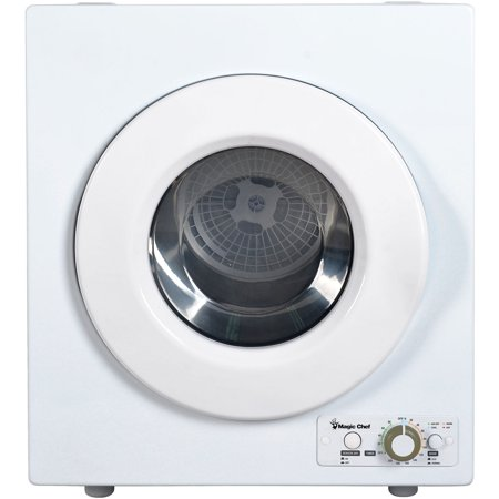 Magic Chef 2.6 Cu. Ft. Compact Electric Dryer in White