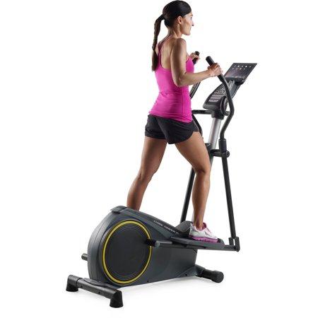 Gold's Gym Stride Trainer 350i Elliptical with Tablet Holder