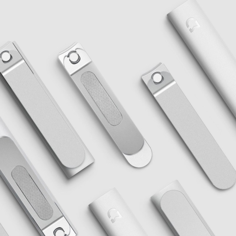 Xiaomi Mijia Stainless Steel Nail Clippers With Anti Splash Cover Trimmer 7