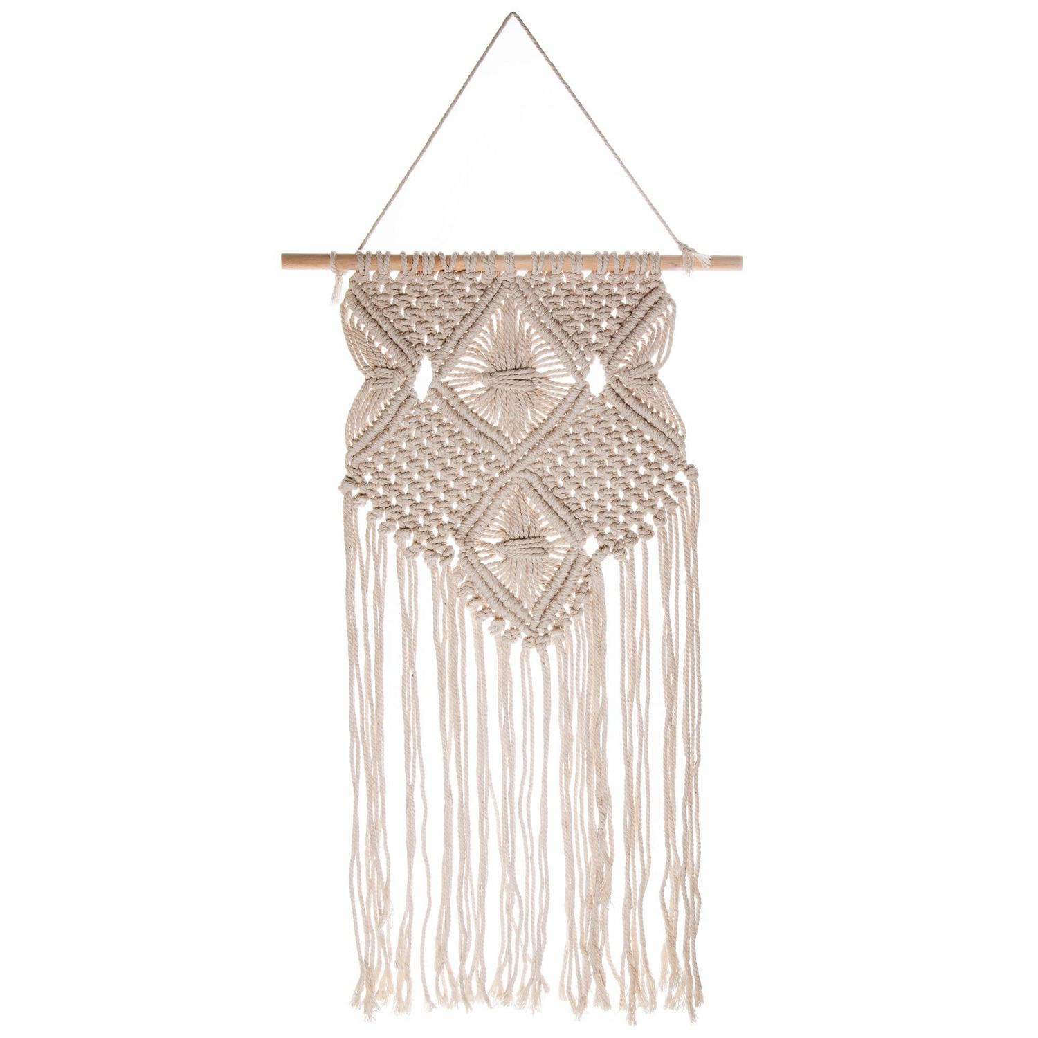 truu design hand crafted macrame wall hanging