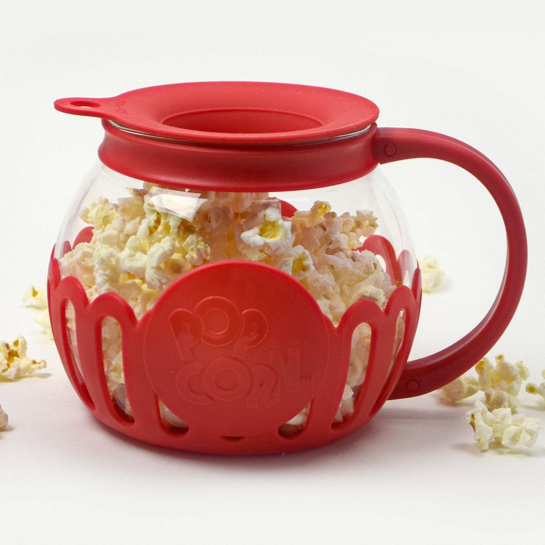 tasty caged microwave popcorn popper