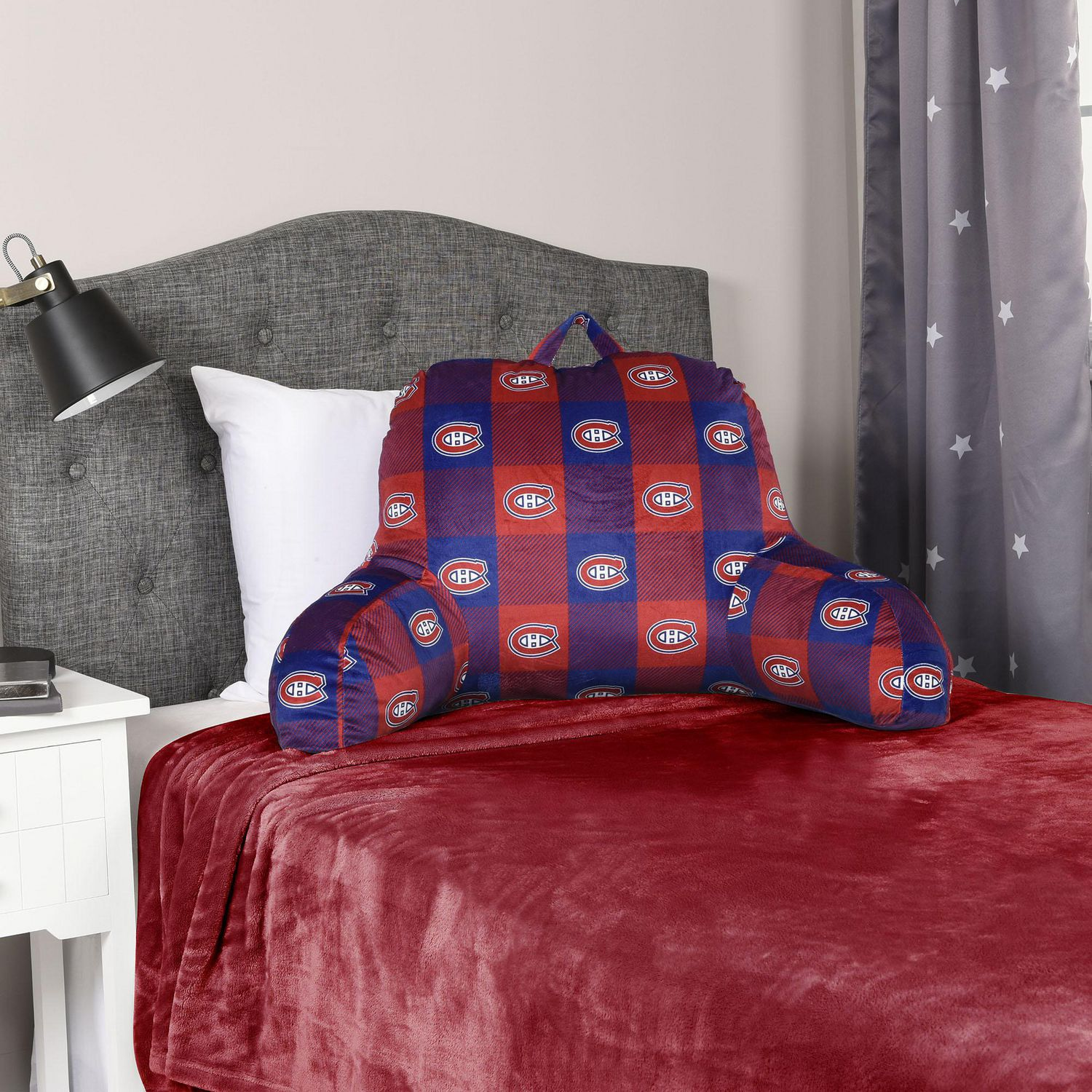 Nhl Montreal Canadiens Bed Rest Pillow Walmart Canada