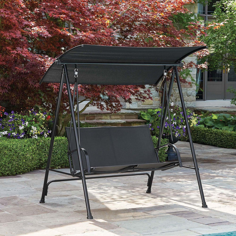 mainstays carlington patio swing
