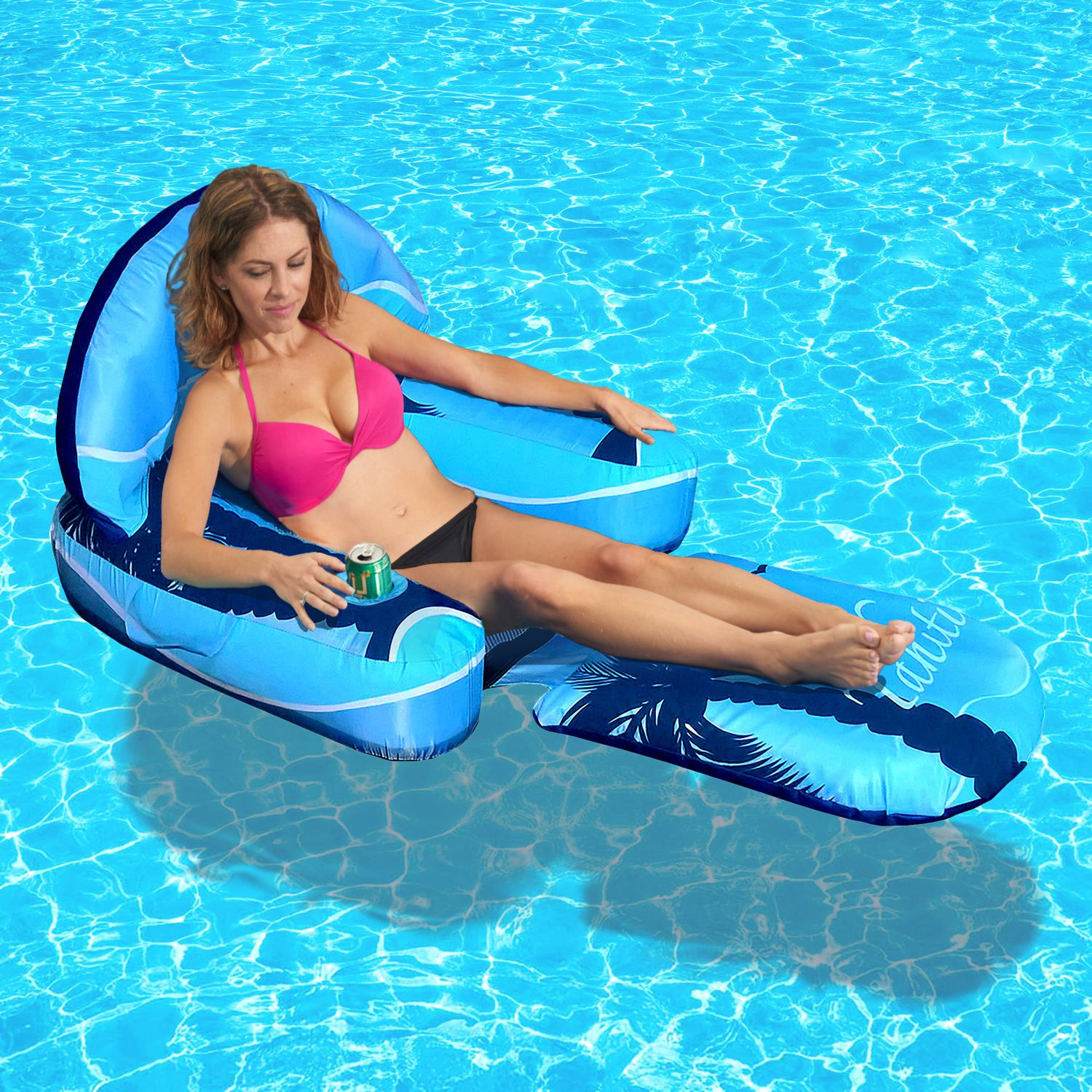 chaise longue gonflable drift escape de blue wave