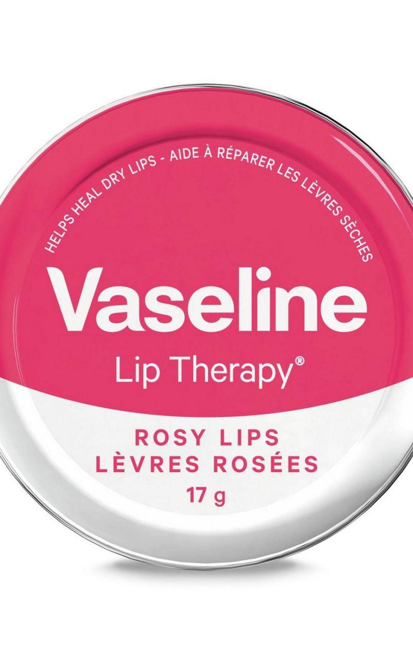 Vaseline On Lips Lip Therapy Rosy 20g Original 100 Canada