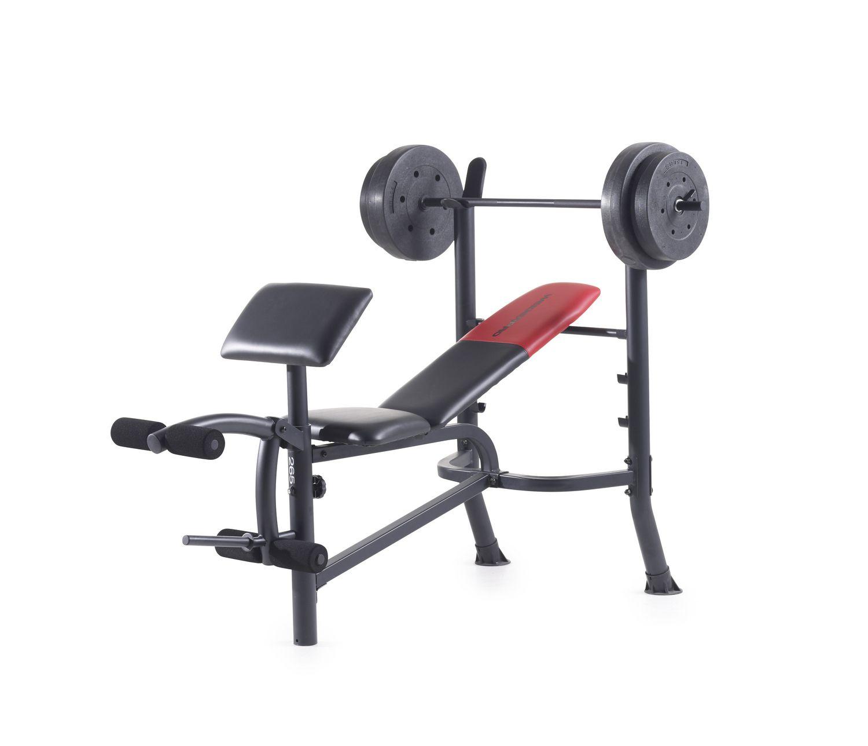 Weider Pro 265 Weight Bench Walmart Canada