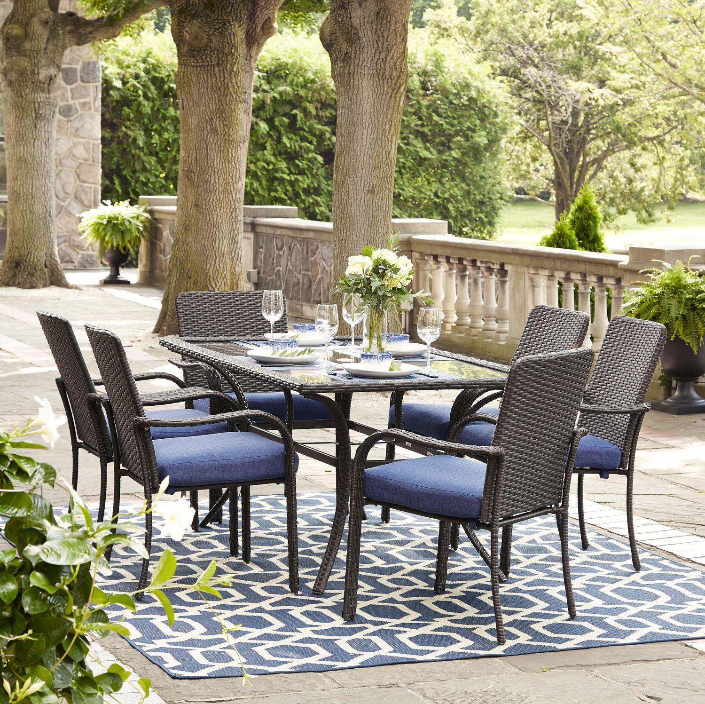 hometrends Tuscany 7-Piece Dining Set | Walmart Canada on Walmart Outdoor Living  id=40669
