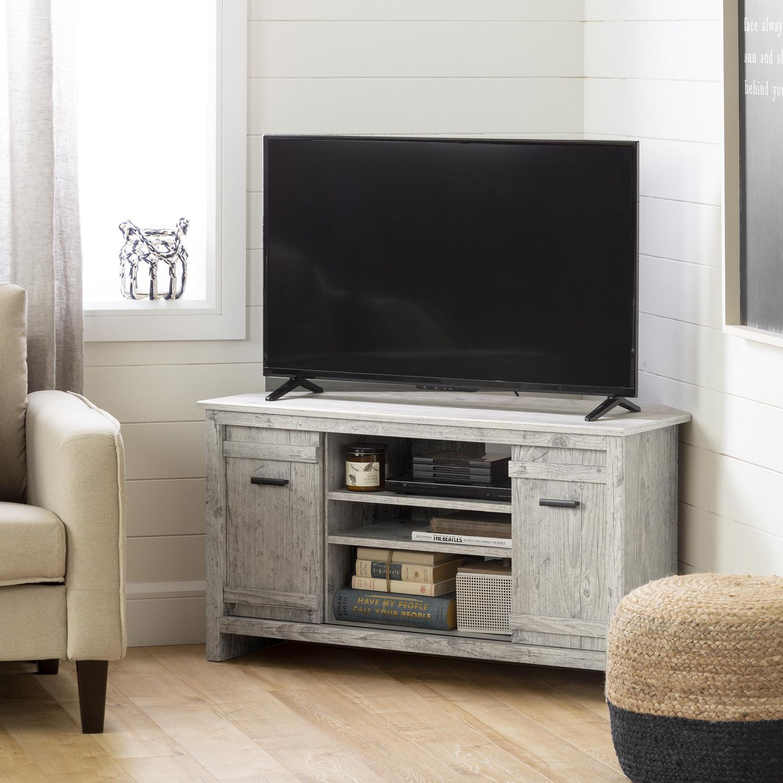 meuble tv en coin pour tv jusqu a 42 exhibit de meubles south shore