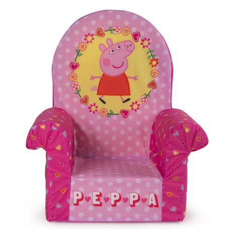 Marshmallow Furniture Peppa Pig Childrens Upholstered