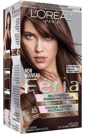 LOral Paris Feria 45 Shimmering Haircolour Gel