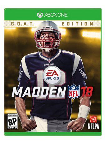 Madden NFL 18 GOAT Edition Xbox One Walmartca