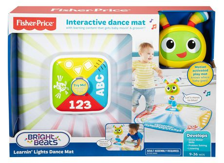 tapis de danse illumine bright beats de fisher price edition anglaise