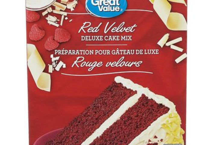 Great Value Red Velvet Cake Mix Walmart Canada