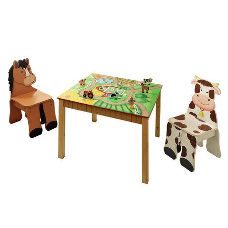 Table Et Chaises Bonheur La Ferme De Fantasy Fields