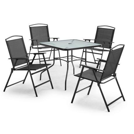 mainstays 5 piece cranston dining set
