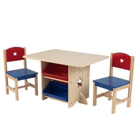 ens table et 2 chaises star de kidkraft
