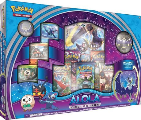 Pokemon Alola Lunala Collection Box English Walmart Canada