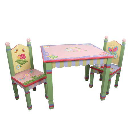Table Et Chaises Jardin Magique De Fantasy Fields