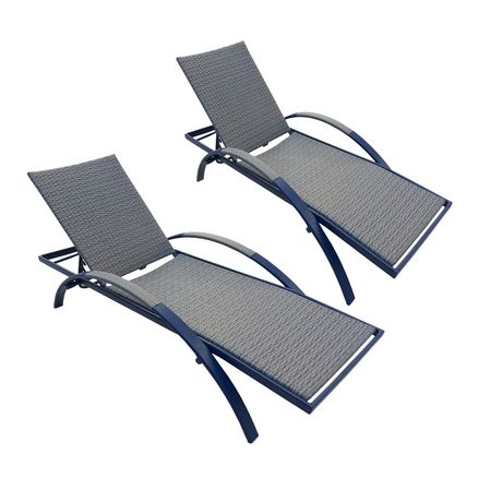 Chaise Longue Multi Positions Pour Bain De Soleil D