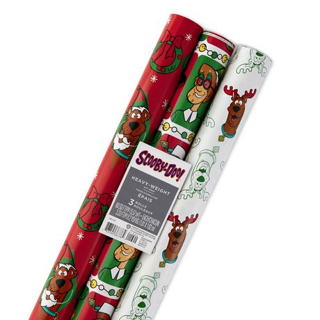 Hallmark Scooby Doo Christmas Wrapping Paper Rolls