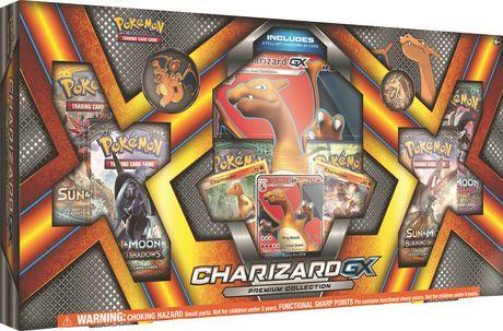 Pokmon Charizard GX Premium Box English Walmart Canada
