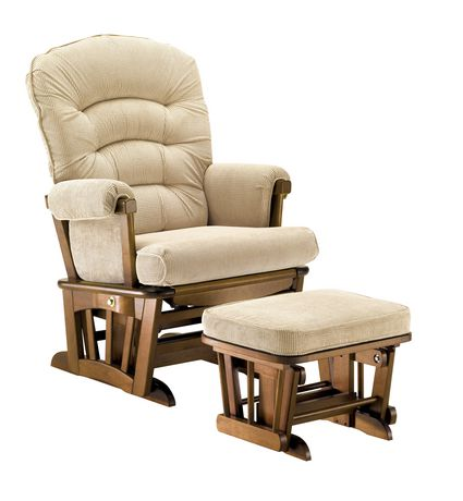 shermag wide glider recliner multi features chair on Shermag Glider Chair id=85616