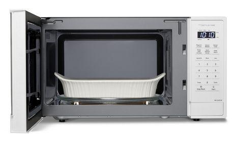 panasonic nnsu65lw 1 3 cu ft genius microwave oven white