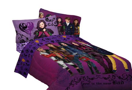 Couette Rversible Descendants De Disney Walmartca