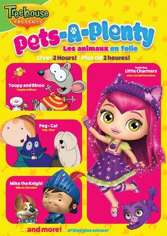 Treehouse Compilation Pets A Plenty DVD Walmart Canada