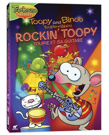 Toopy And Binoo Rockin Toopy DVD Walmart Canada