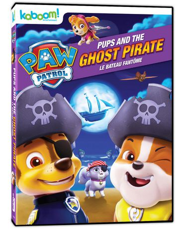 PAW Patrol Pups And The Ghost Pirate DVD Bilingual