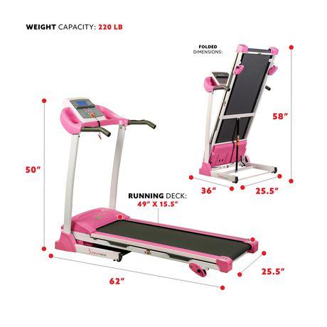 tapis de course p8700 de sunny health fitness