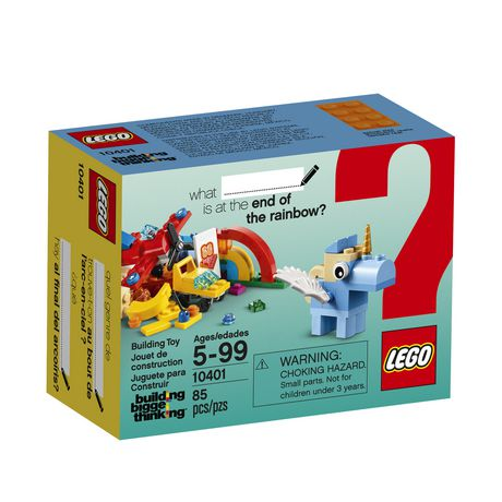 LEGO Building Bigger Thinking   Rainbow Fun  10401    Walmart Canada LEGO Building Bigger Thinking   Rainbow Fun  10401