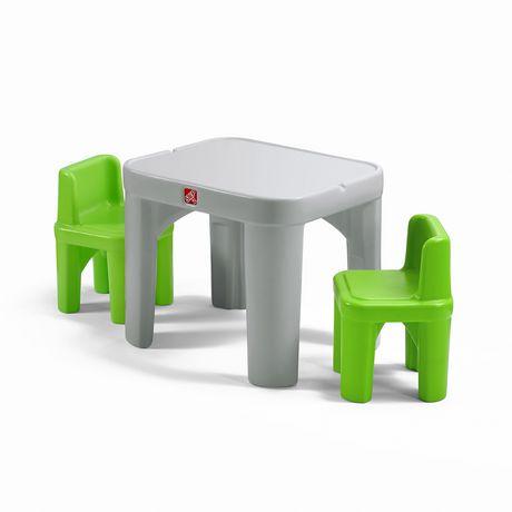 ensemble de tables et chaises mighty my size de step2