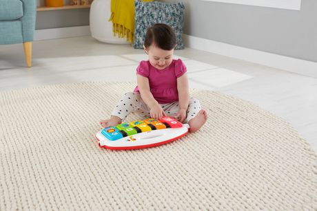 fisher price tapis piano de luxe edition anglaise