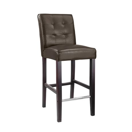 CorLiving DAD 483 B Tabouret De Bar Antonio En Cuir
