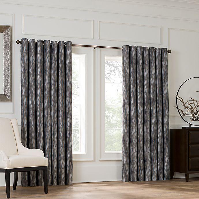 valeron lustre grommet top 120 inch window curtain panel in silver walmart com