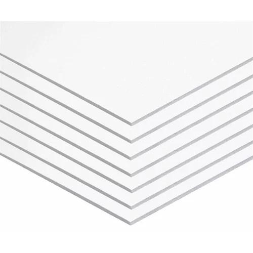 foam board 20 x 30 3 16 white pack of 10 walmart com
