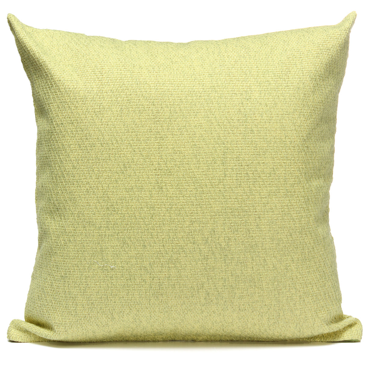 decorative throw pillow case cushion cover 17x17 inch solid color linen pillowslip protector w zipper for couch sofa home car