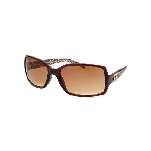 Guess Womens GU6408 Rectangle Gradient Fashion Sunglasses