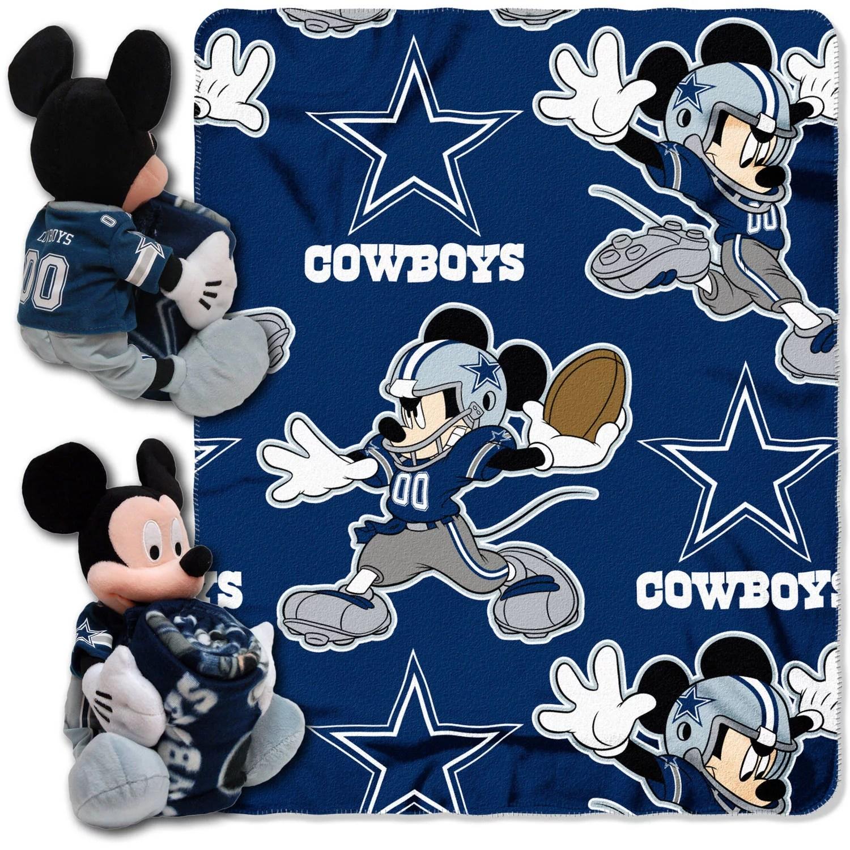 Disney NFL Dallas Cowboys Hugger Pillow And 40 X 50
