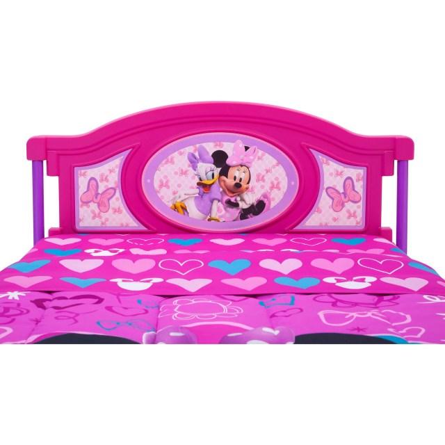 Delta Children Disney Minnie Mouse Twin Bed Walmart