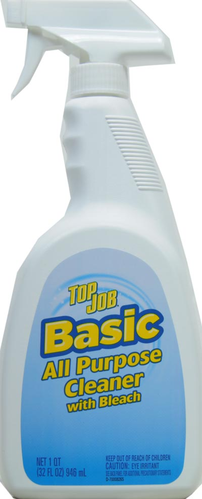 Top Job Basic All Purpose Cleaner With Bleach 32 Fl Oz