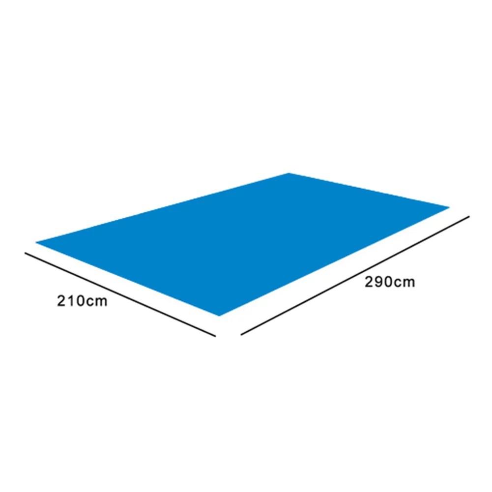 tapis de piscine au sol carre en toile de sol pour piscine tapis facile a nettoyer