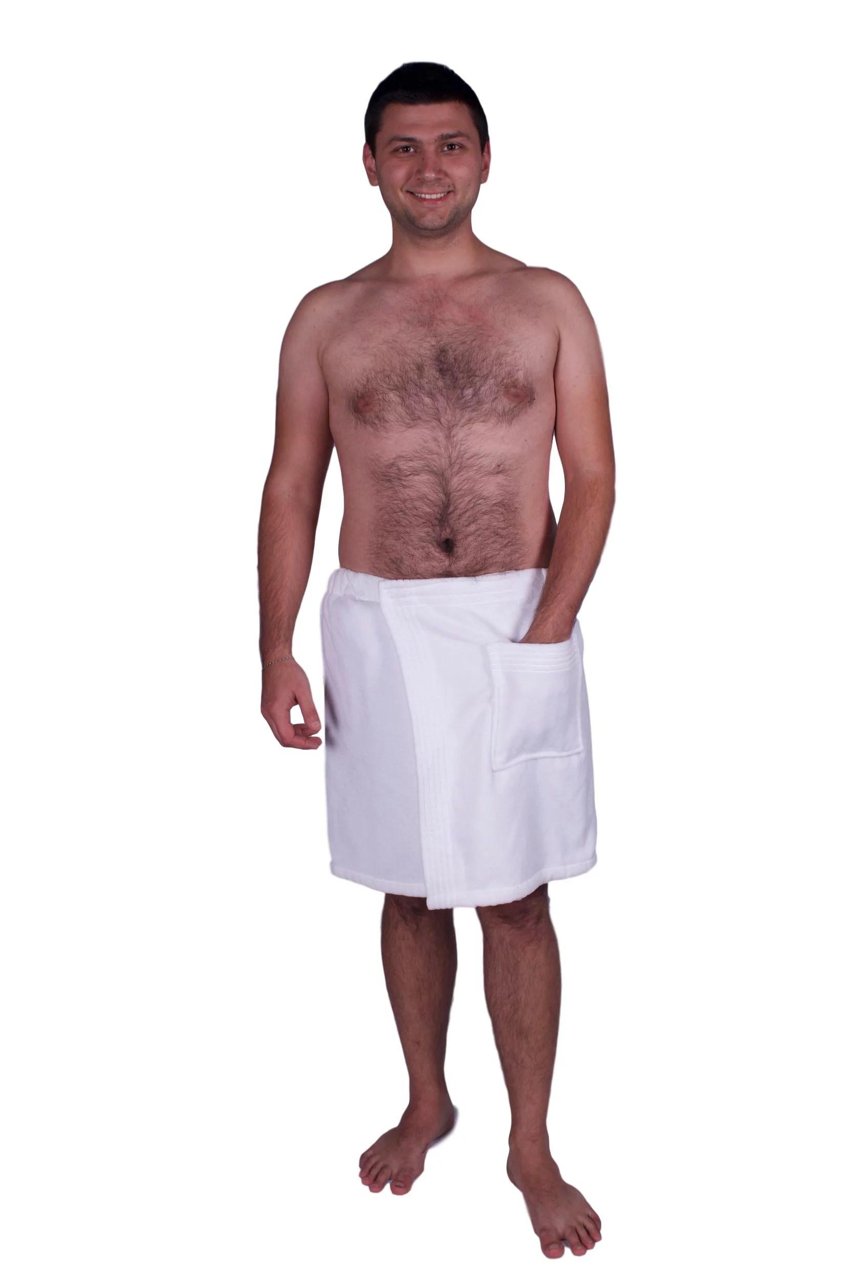 Royal Blue Terry Wrap Towel
