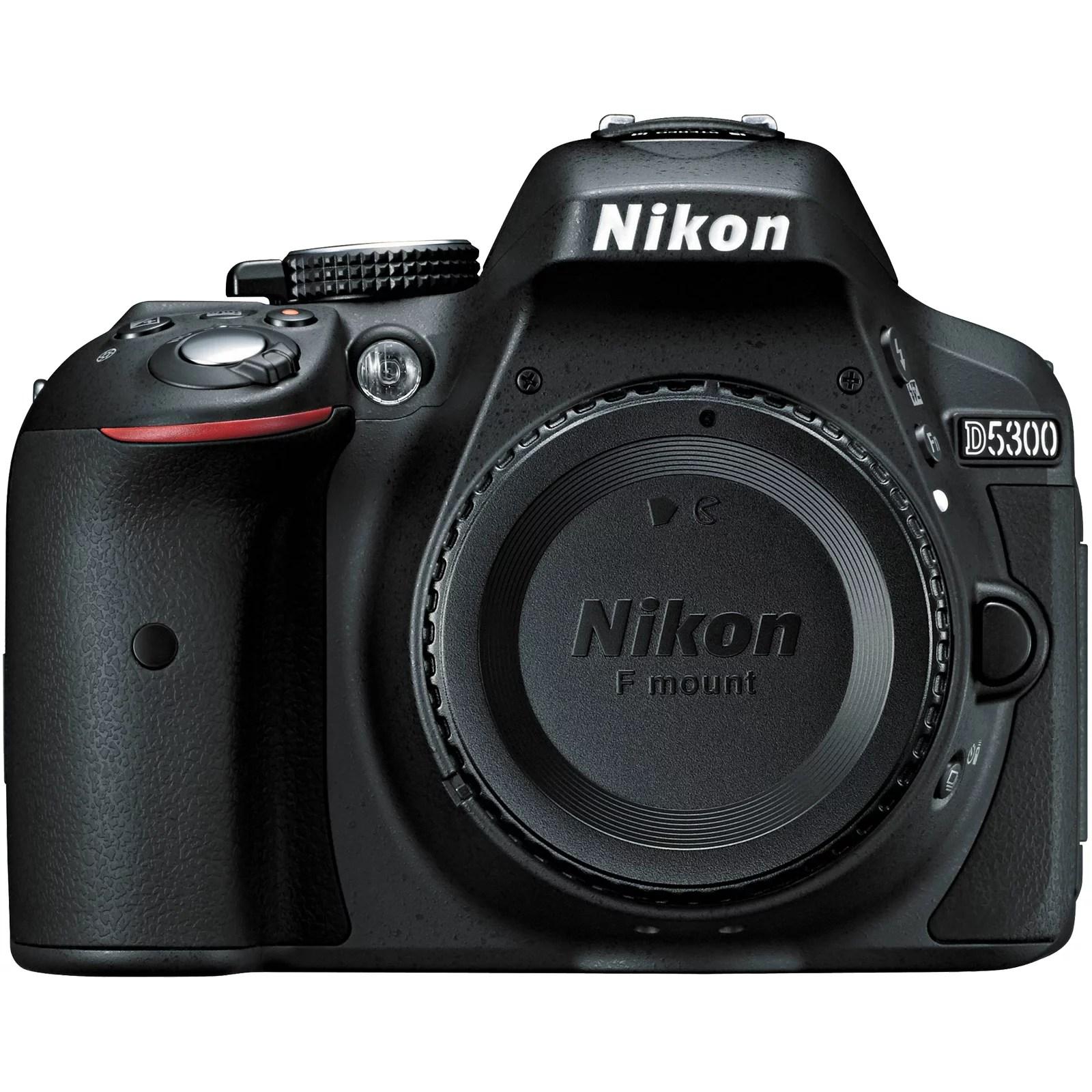 Nikon D5300 – Digital camera – SLR – 24.2 MP – APS-C – body only – Wi-Fi – black