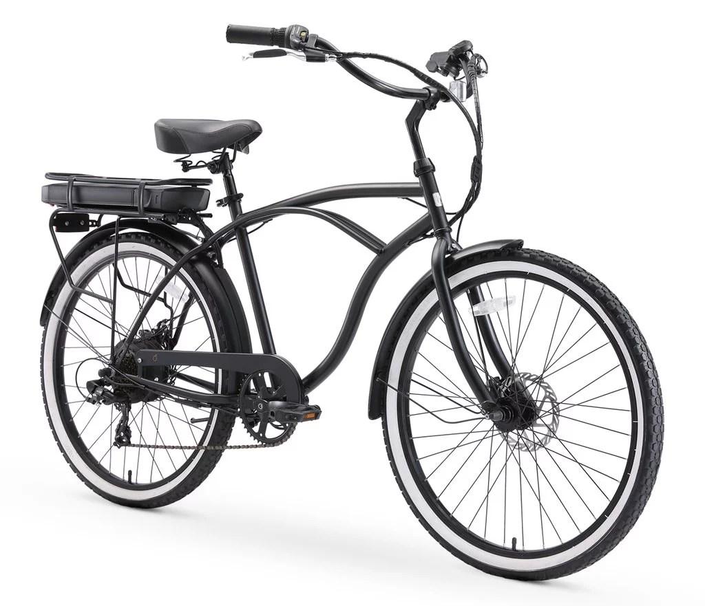Sixthreezero Go For A Jaunt E Bike Men S 500w Beach