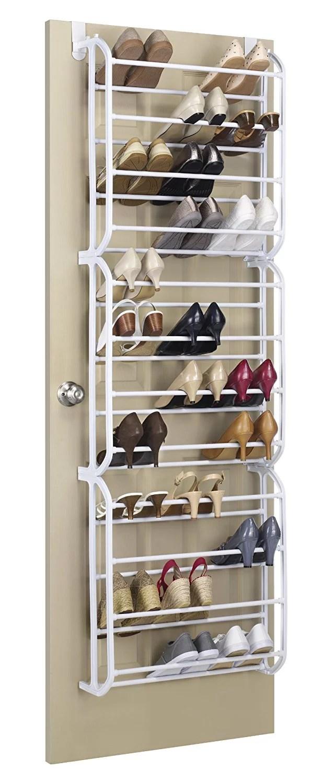 Zimtown Hanging Shoe Rack Over the door 36 Pair Closet ... on Closet Space Savers Walmart  id=36223